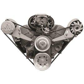 Alan Grove Components Compressor Bracket - Small Block Chevy - Short Water Pump - Passenger Side - 113R