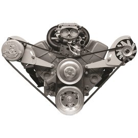 Alan Grove Components Compressor Bracket - Small Block Chevy - Short Water Pump - Passenger Side - 113R-Low