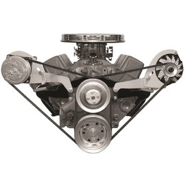 Alan Grove Components Compressor Bracket - SBC - Short Water Pump - Passenger Side - 113R-SC
