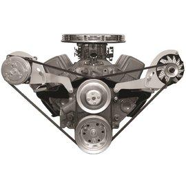 Alan Grove Components Compressor Bracket - Small Block Chevy - Short Water Pump - Passenger Side - 113R-SC