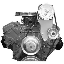 Alan Grove Components Compressor Bracket - BBC - Long Water Pump - Driver Side - 116L