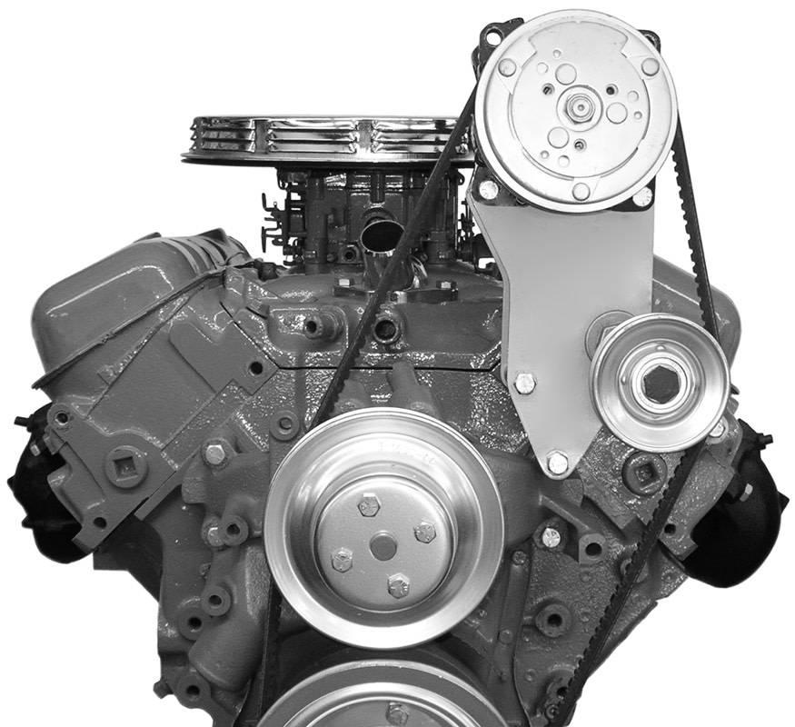 Compressor Bracket - Big Block Chevy - Long Water Pump - Driver Side - 116L