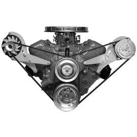 Alan Grove Components Compressor Bracket - BBC - Short Water Pump - Driver Side - 118L
