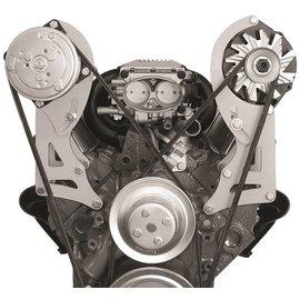 Alan Grove Components Compressor Bracket - SBC- Long Water Pump - Passenger Side - 120R