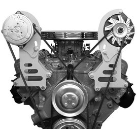Alan Grove Components Compressor Bracket - BBC - Short Water Pump - Passenger Side - 121R