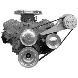 Alan Grove Components Compressor Bracket - Big Block Chevy - Long Water Pump - Driver Side - 122L