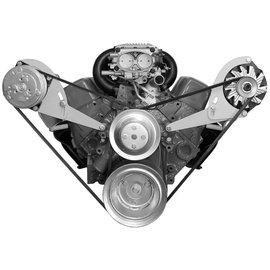 Alan Grove Components Compressor Bracket - SBC - Long Water Pump - Passenger Side - 123R