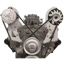 Alan Grove Components Compressor Bracket - SBC - Short Water Pump - Passenger Side - 128R