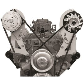 Alan Grove Components Compressor Bracket - Small Block Chevy - Short Water Pump - Passenger Side - 128R