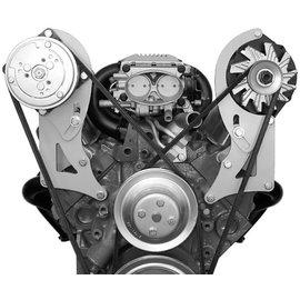 Alan Grove Components Compressor Bracket - SBC - Long Water Pump - Passenger Side - 130R