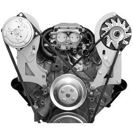 Alan Grove Components Compressor Bracket - SBC VORTEC - Long Water Pump - Passenger Side - 131R
