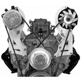 Alan Grove Components Compressor Bracket - SBC VORTEC - Long Pump - Pass Side - 131R-Tall