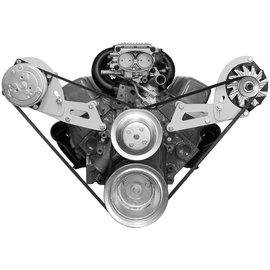 Alan Grove Components Compressor Bracket - SBC - Long Water Pump - Passenger Side - 134R