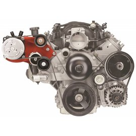 Alan Grove Components Compressor Bracket - LS Camaro/Firebird - Low Profile - Passenger Side - 141R