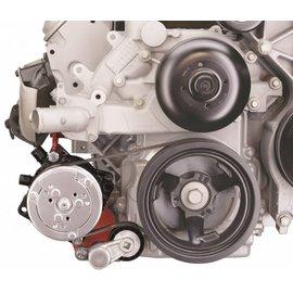 Alan Grove Components Compressor Bracket - LS Truck - Low Mount - Passenger Side - 142R
