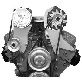 Alan Grove Components Alternator Bracket - Big Block Chevy - Short Water Pump - Driver Side - 204L