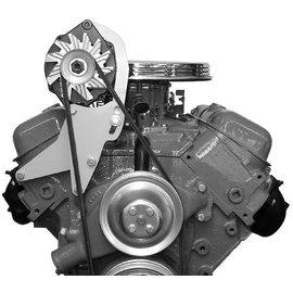 Alan Grove Components Alternator Bracket - BBC - Short Water Pump - Passenger Side - 204R