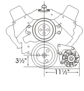 327 Chevy Alternator Wiring Diagram