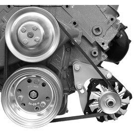 Alan Grove Components Alternator Bracket (CS130) BBC Low Mount - Short Pump - Driver Side - 210L