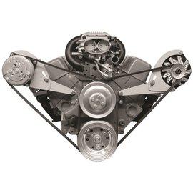 Alan Grove Components Alternator Bracket - SBC - Short Water Pump - Driver Side - 213L-Low