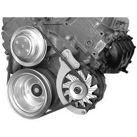 Alan Grove Components Alternator Bracket - BBC - Low Mount - Long Water Pump - Driver Side - 217L