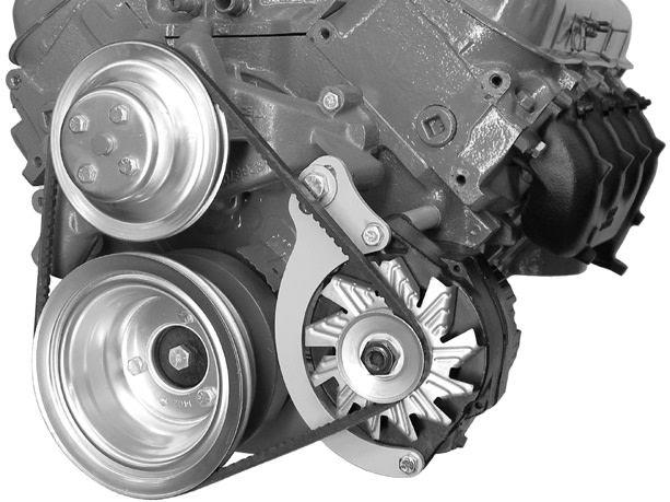 Alternator Bracket - Big Block Chevy - Low Mount - Long Water Pump - Driver  Side - 217L