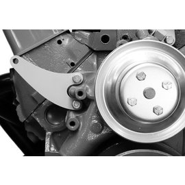 Alan Grove Components Alternator Support Bracket (Factory Alt) - Small Block Chevy - Long Pump - Pass Side - 219R