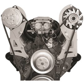 Alan Grove Components Alternator Bracket - Small Block Chevy - Long Water Pump - Driver Side - 220L