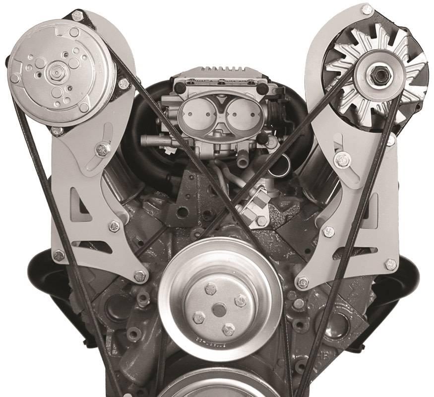 Alternator Bracket - Small Block Chevy - Long Water Pump - Driver Side -  220L