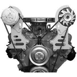 Alan Grove Components Alternator Bracket - Big Block Chevy - Short Water Pump - Driver Side - 221L