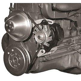 Alan Grove Components Alternator Bracket - 235 Chevy 6-Cylinder - Driver Side - 224L