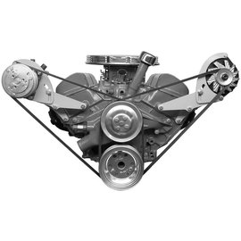 Alan Grove Components Alternator Bracket - 348-409 - Driver Side - 226L