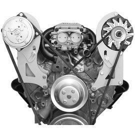 Alan Grove Components Alternator Bracket - SBC VORTEC - Long Water Pump - Driver Side - 230L