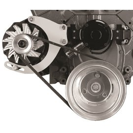 Alan Grove Components Alternator Bracket - Small Block Chevy - Electric Long Water Pump - Passenger Side - 235R