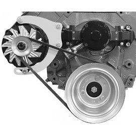 Alan Grove Components Alternator Bracket - BBC - Electric Water Pump - Passenger Side - 236R