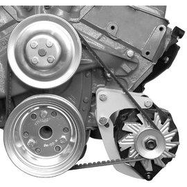 Alan Grove Components Alternator Bracket - 348-409 - Low Mount - Driver Side - 237L