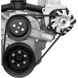 Alan Grove Components Alternator Bracket - 401/425 Nailhead Buick - Mid Mount - Driver Side - 239L