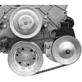 Alan Grove Components Power Steering Bracket - SBC - Short Water Pump - Driver Side - 400L