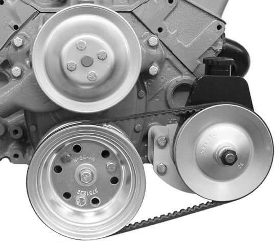 Power Steering Bracket - Small Block Chevy - Short Water Pump - Driver Side  - 400L