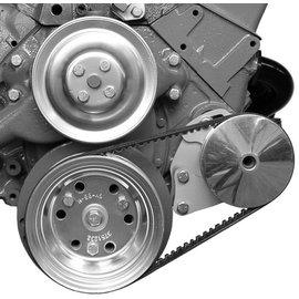 Alan Grove Components Power Steering Bracket SBC Short Water Pump Type II Pump - Driver Side - 409L