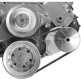 Alan Grove Components Power Steering Bracket - BBC - Short Pump - Type II Pump - Driver Side - 413L
