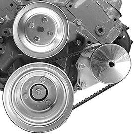 Alan Grove Components Power Steering Bracket - BBC - Long Pump - Type II Pump - Driver Side - 414L