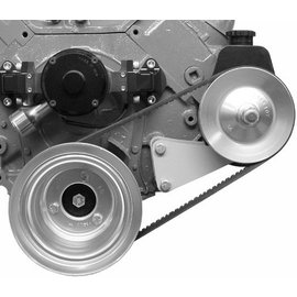 Alan Grove Components Power Steering Bracket - BBC - Electric Water Pump - Driver Side - 418L
