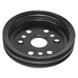 Alan Grove Components Crank Shaft Pulley - 2 Groove - Big Block Chevy - Short Water Pump - 501B