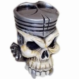 Van Chase Piston Skull Shift Knob