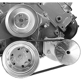 Alan Grove Components Power Steering Bracket - BBC - Short Pump - Type II Pump - Driver Side - 415L