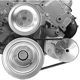 Alan Grove Components Power Steering Bracket - BBC - Long Pump - Type II Pump - Driver Side - 416L
