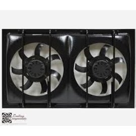 Cooling Components CCI-1228 Dual Cooling Fan