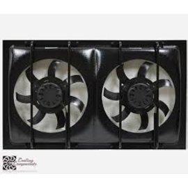 Cooling Components CCI-1228 Dual Cooling Fan