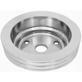 RPC Small Block Chevy Long Water Pump 3 Groove Crank Pulley